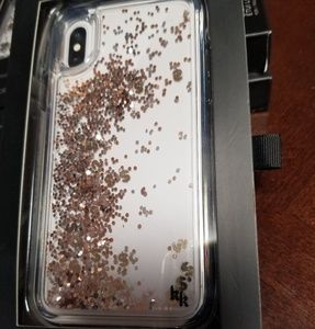Accessories - Kendal and Kylie iPhone X glitter case